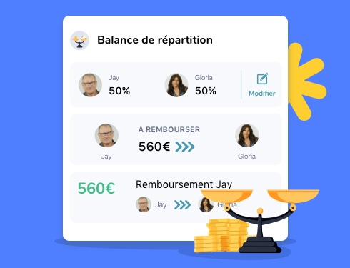 balance des répartitions